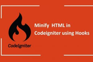 Compress HTML in CodeIgniter using Hooks